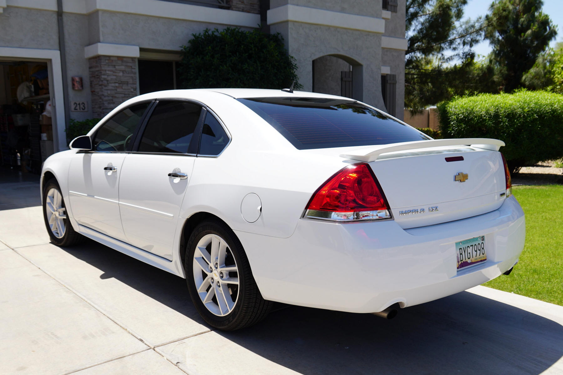 Window Tinting Time Here In The Desert Chevy Impala Forums